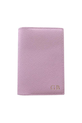 Personalised Vegan Passport Holder - Pink