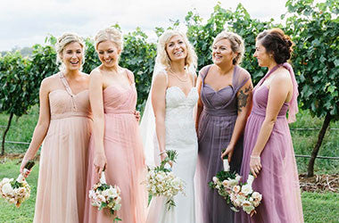 Australian bridesmaid dresses