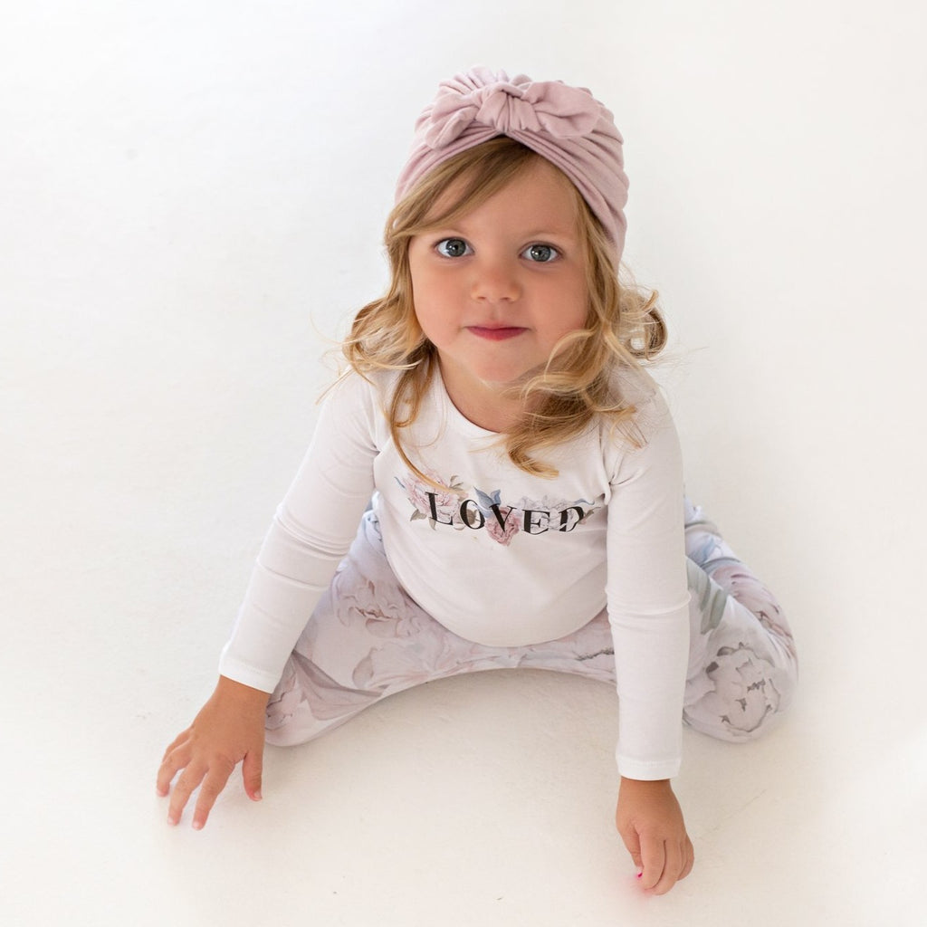 Peony LOVED Body Vests - Long Sleeve