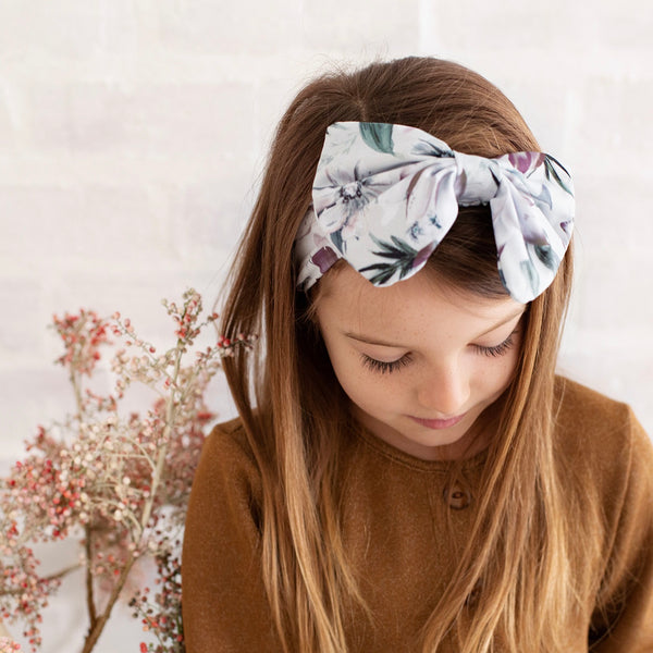 Dahlia Dreams Bow Headband
