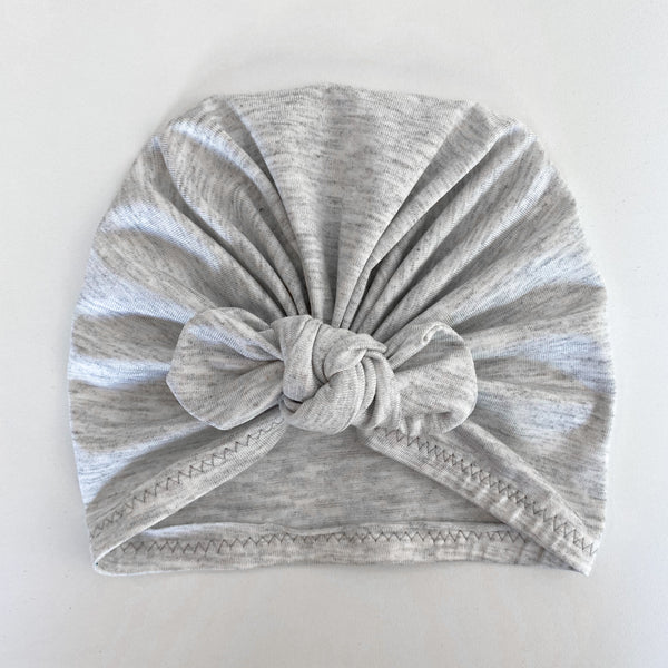 Turban - Light Grey Melange
