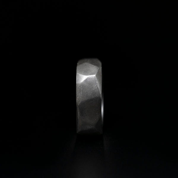 Faceted Mens Rings