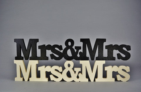 Mrs&Mrs wedding/civil ceremony top table decoration