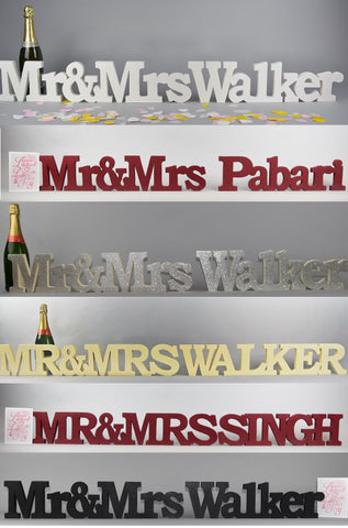 Mr & Mrs Surname