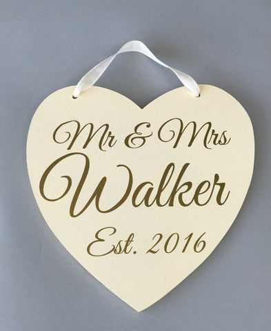 Personalised wedding decoration, wedding gift