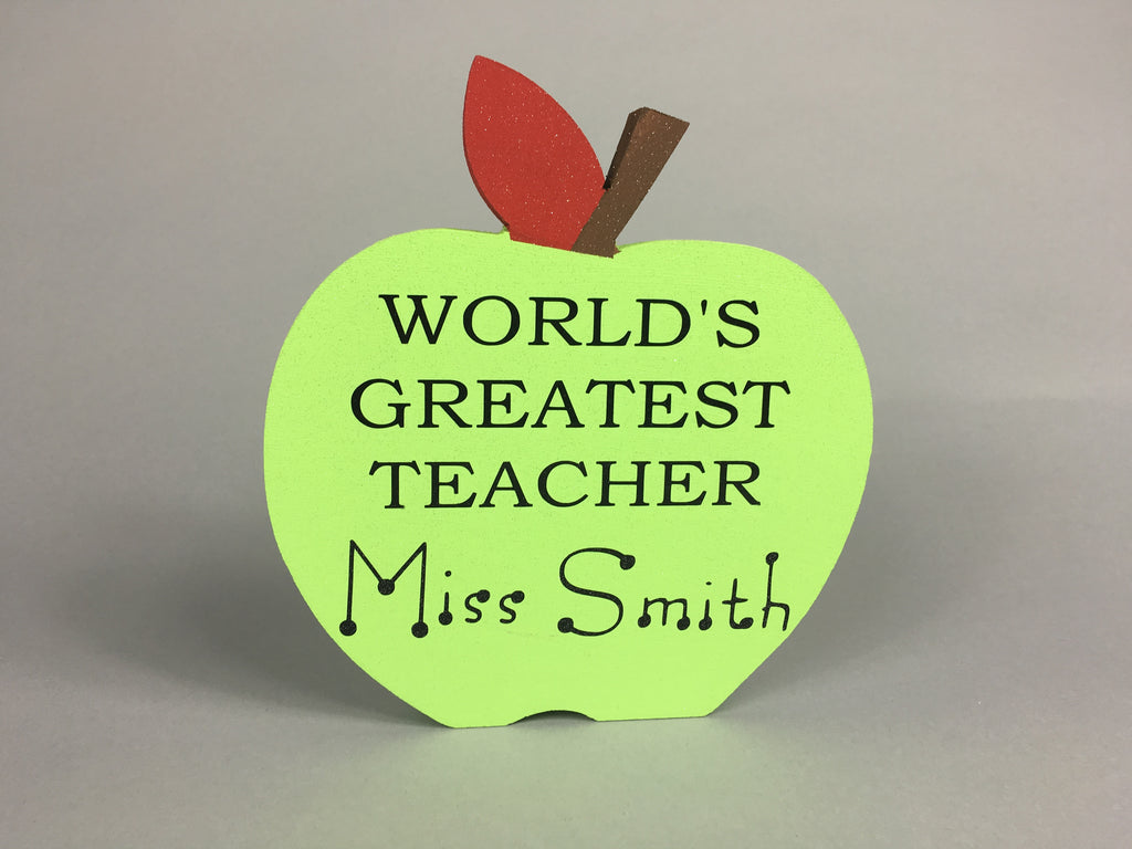 World's greatest teacher! Gift for teacher