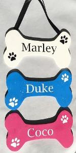 Dog Name Sign