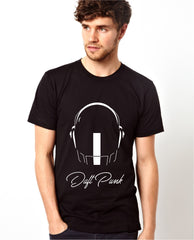 Daft Punk Men's Split Helmet T-shirt