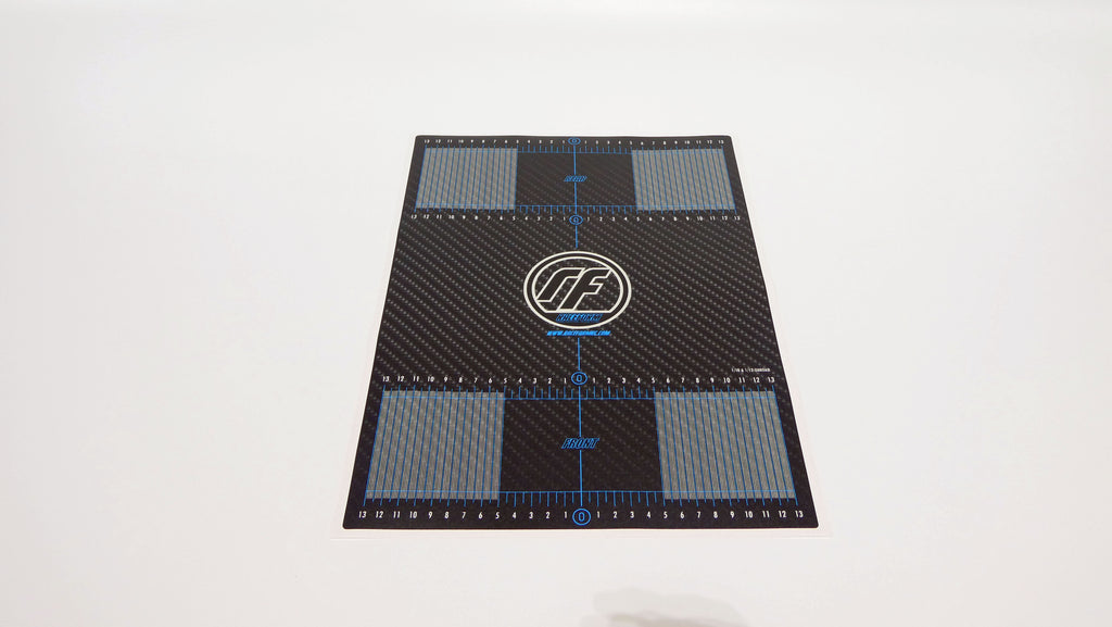 CARBON FIBRE GRAPHIC SETUP DECALS