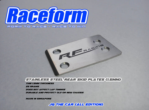 RACEFORM STAINLESS STEEL SKID PLATE (JQ The Cars)