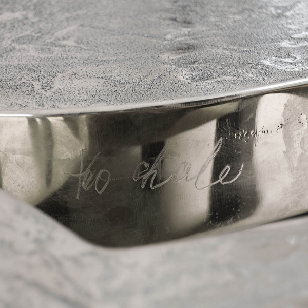 Aluminium Coffee Table Model 'Josephine' by Ado Chale