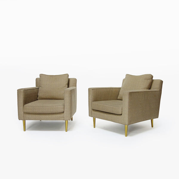 Pair of armchairs by Dunbar