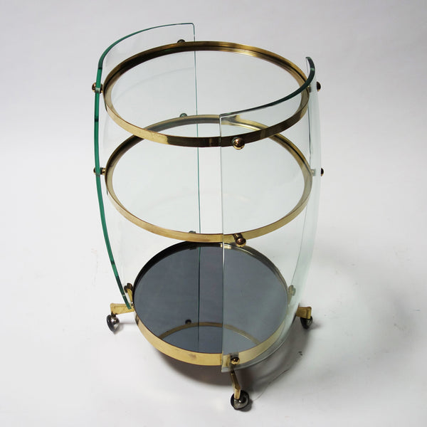 Bar cart by Fontana Arte