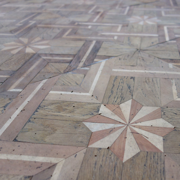 18th Century Marquetry Wooden Floor