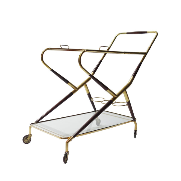 Trolley Bar Cart by Cesare Lacca