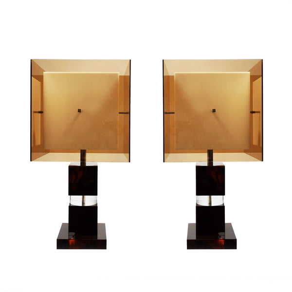 Pair of italian lamps