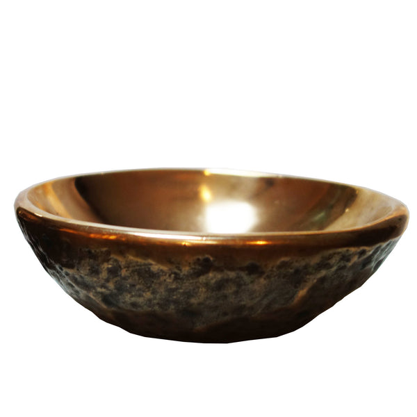 Small bronze bowl by Ado Chale