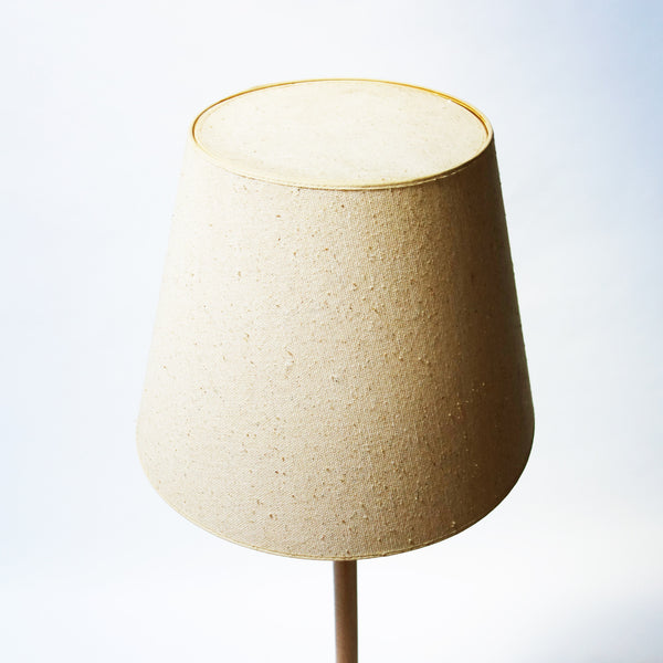 Oak and Brass Floor Lamp from Denmark