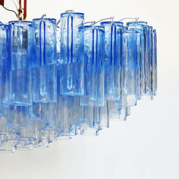 Chandelier 'Calza' by Ludovico Diaz de Santillana for Venini