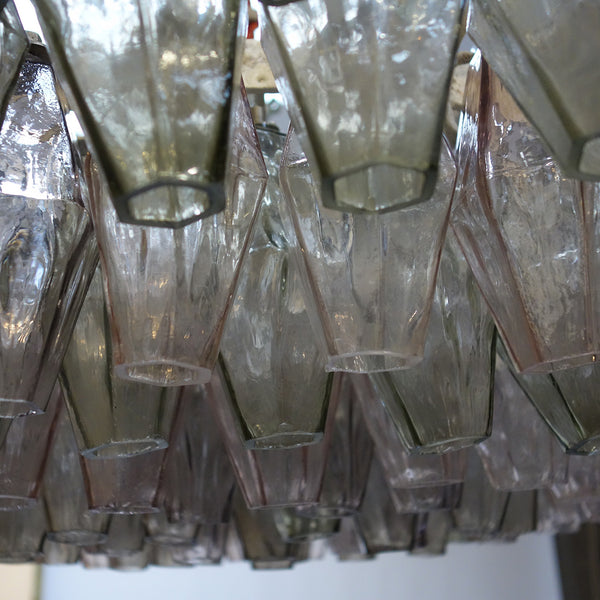 Chandelier Model 'Poliedri' by Carlo Scarpa