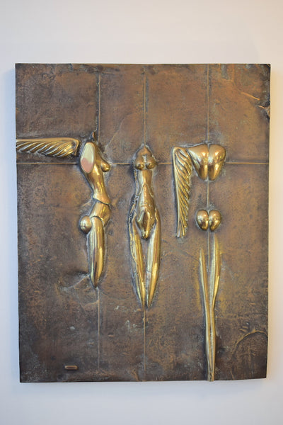 Wall mounted sculpture Paul Wunderlich