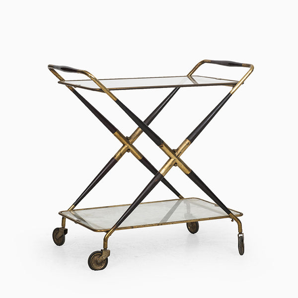 Foldable Trolley Bart Cart by Cesare Lacca