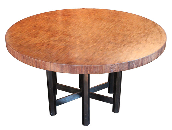 Dining room table by Jules Wabbes
