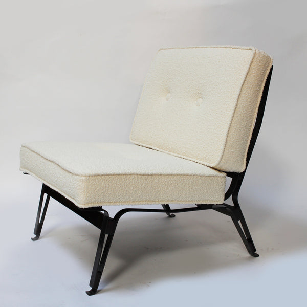 Set of lounge chairs, model 856, with ottoman by Ico Parisi