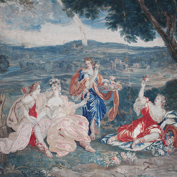 Magnificent Early 18th Century Brussels Tapestry