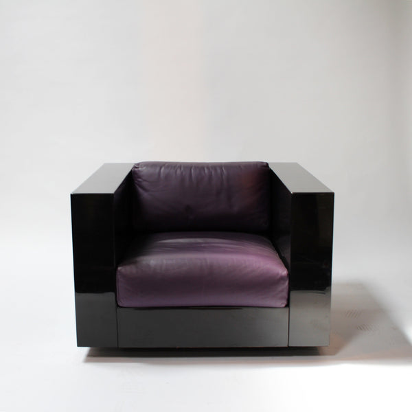 Saratoga Living Room Set by Massimo & Lella Vignelli for Poltronova