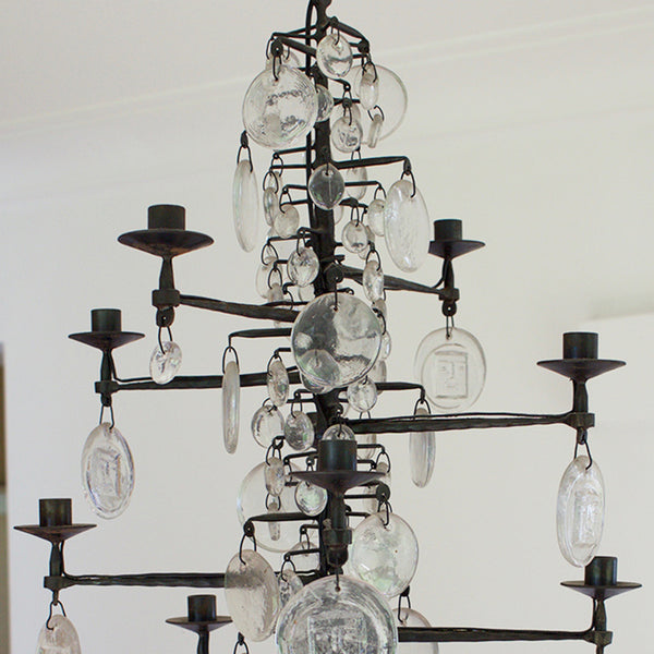 Erik Hoglund Ten-Candle Chandelier