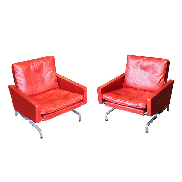 Pair of armchairs, model PK31 by Poul Kjaerholm