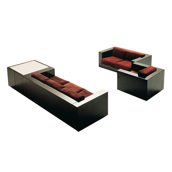 Saratoga Living Room Set by Lella & Massimo Vignelli for Poltronova