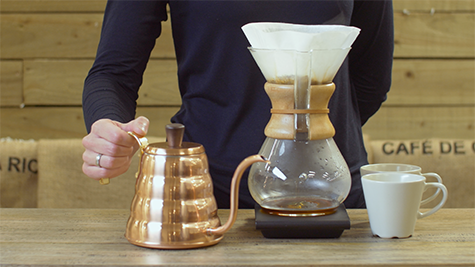 How to brew - Pour over (Chemex)