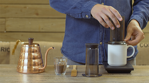How to brew - Aeropress