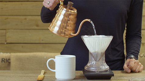 How to brew - Pour over (Clever dripper)