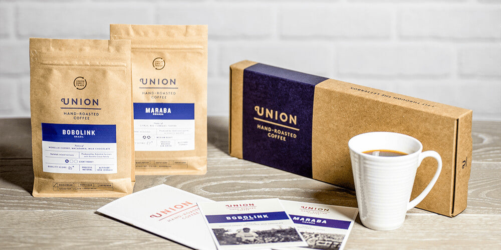 Union Coffee Subscription Plans and Products