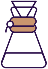 Pour over (Chemex) icon