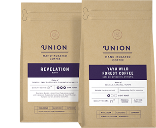 Union Coffee packshot