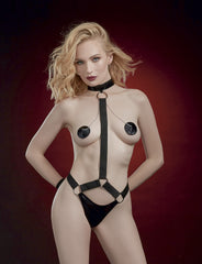 Harness Teddy Restraints & Pasties Set
