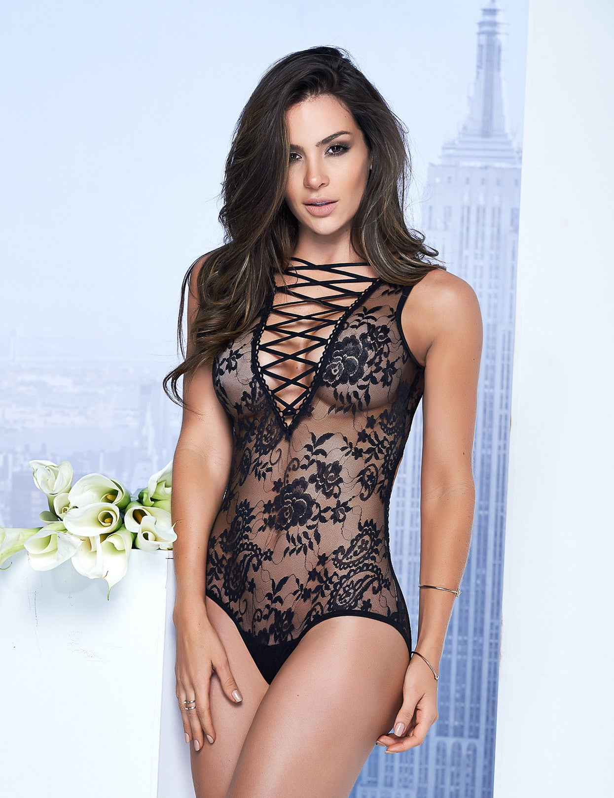 Lace-Up Lacey Teddy