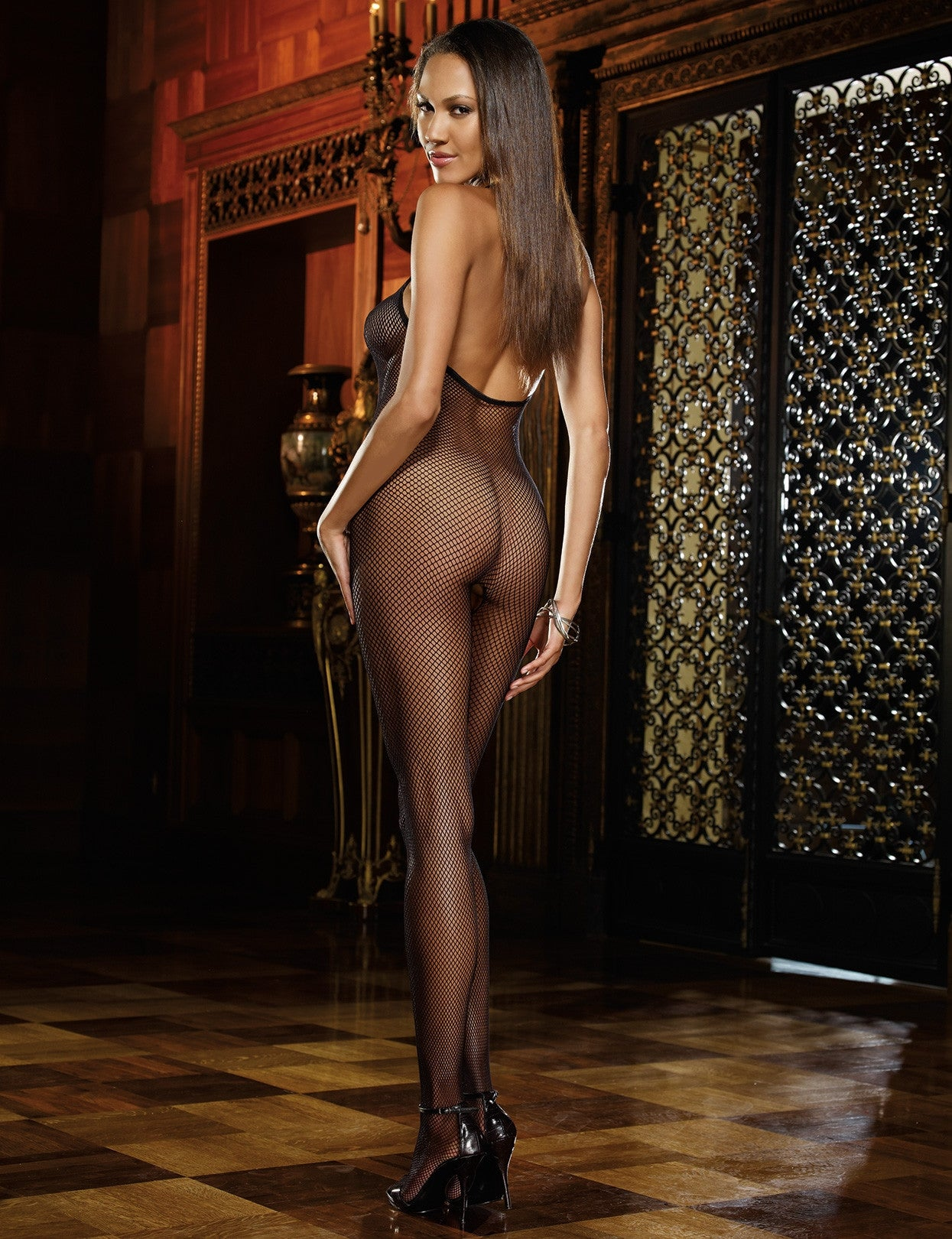 Madeira Fishnet Bodystocking - just damn sexy  - 2