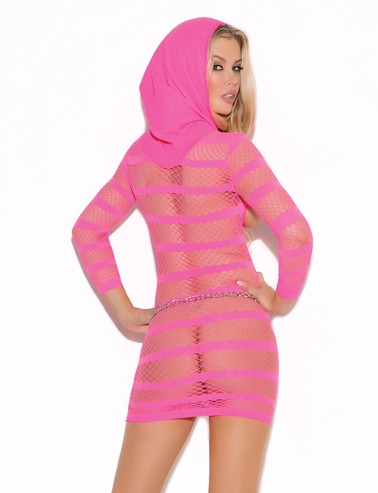 Cupless Hooded Dress