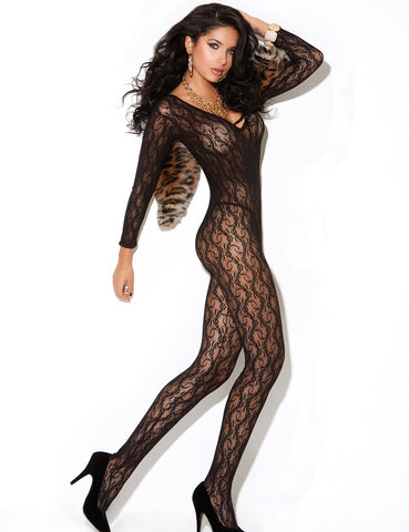 Open Crotch Bodystocking