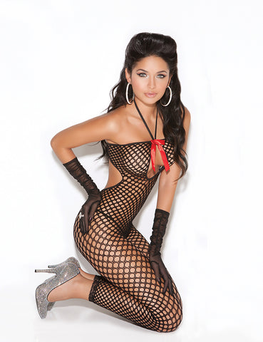 Crochet Keyhole Bodystocking