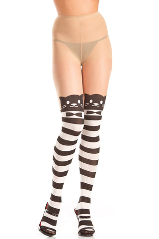 Kitty Cat Pantyhose