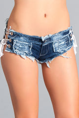 Blue Jean Hot Pants