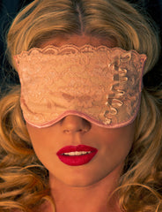 Beige Sleep Mask - just damn sexy  - 1