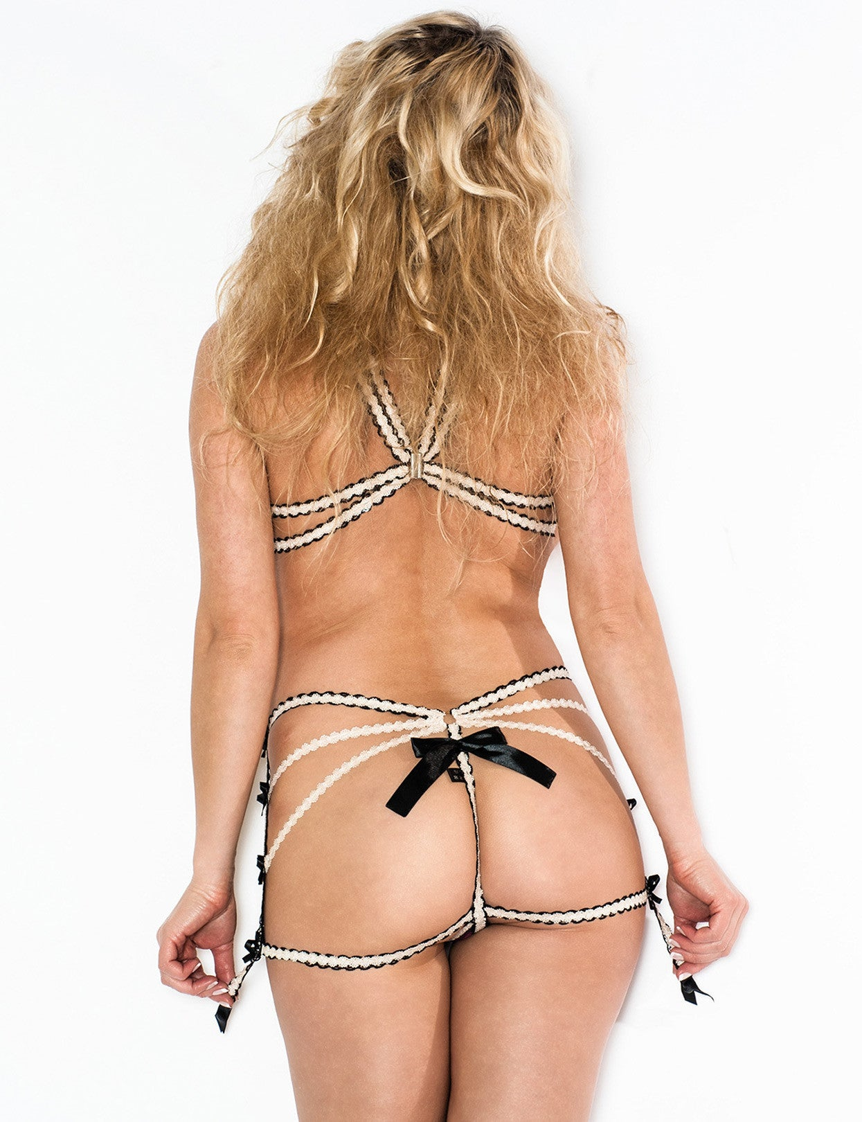 Open Bust Top Harness - just damn sexy  - 2