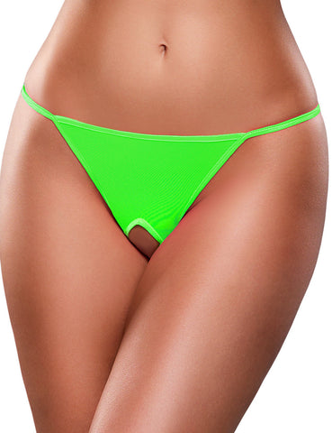 Crotchless Mesh G-string